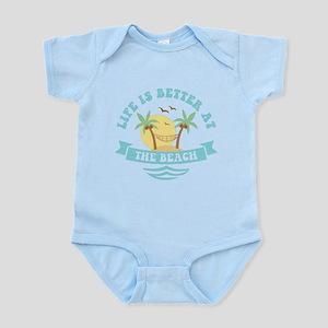 Life's Better At The Beach Infant Bodysuit