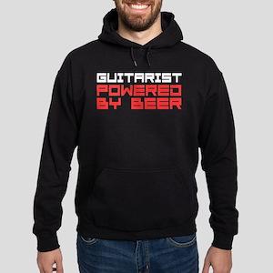 Guitarist Powered Beer Hoodie
