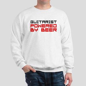Guitarist Powered Beer Sweatshirt