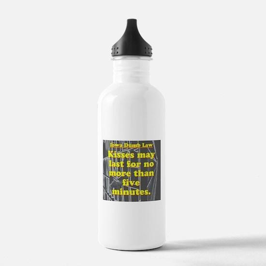 Iowa Dumb Law #2 Water Bottle