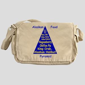 Alaskan Food Pyramid Messenger Bag
