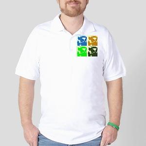 Lemur Pop Art Golf Shirt