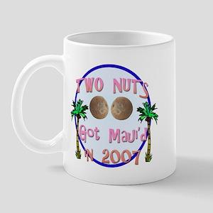 Two Nuts Got Maui'd Mug