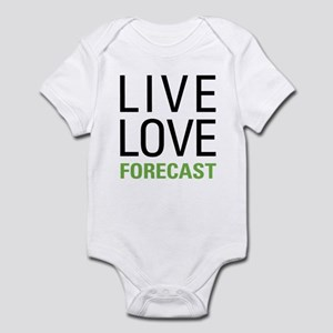 Live Love Forecast Infant Bodysuit
