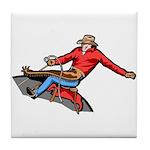 Cowboy Tile Coaster