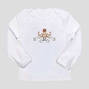 Steampunk Bronze Octopus Long Sleeve T-Shirt