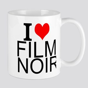 I Love Film Noir Mugs