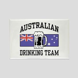 Australian Drinking Team Rectangle Magnet