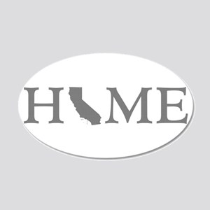 California Home 20x12 Oval Wall Decal