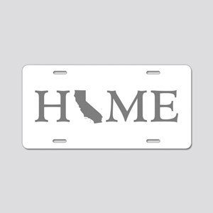 California Home Aluminum License Plate