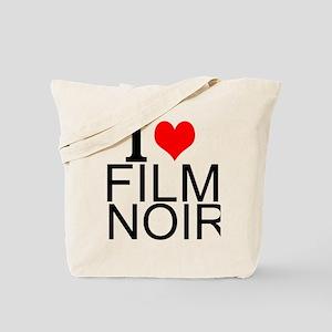 I Love Film Noir Tote Bag