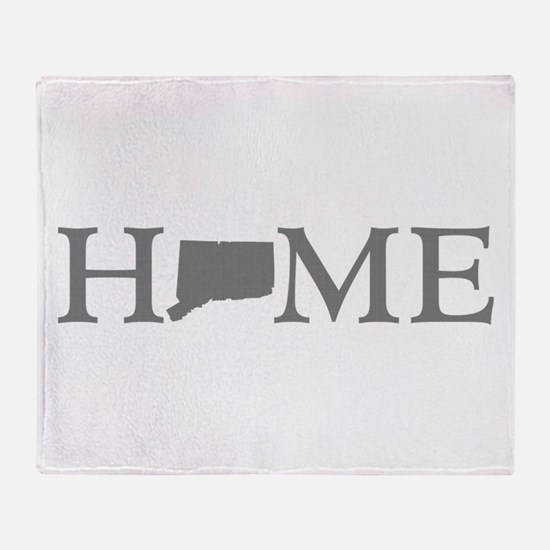 Connecticut Home Throw Blanket