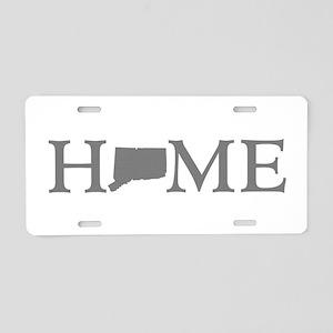 Connecticut Home Aluminum License Plate