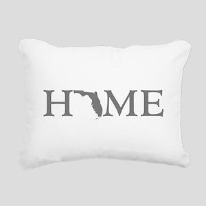 Florida Home Rectangular Canvas Pillow