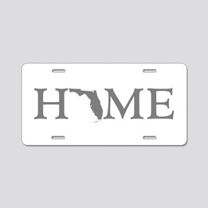 Florida Home Aluminum License Plate