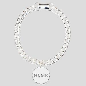 Delaware Home Charm Bracelet, One Charm