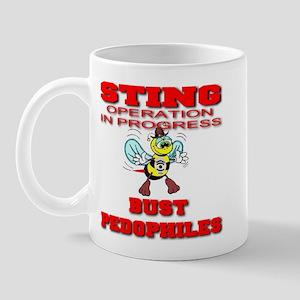 Sting Operation In Progress B Mug