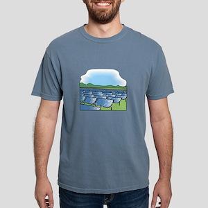 solar panel field. T-Shirt