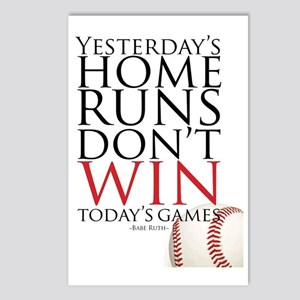 Yesterday's Home Runs Postcards (Package of 8)