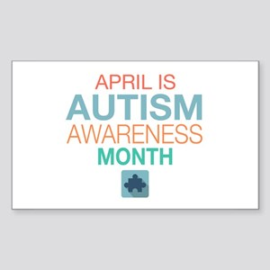 April is Autism Awareness Month Sticker