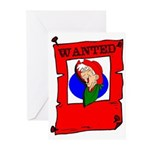 wanted Greeting Cards