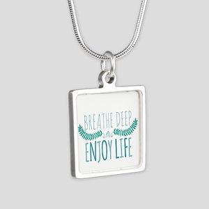 Breathe deep Necklaces