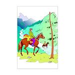Mountain Trails Mini Poster Print
