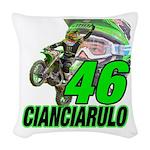 Cian46 Woven Throw Pillow