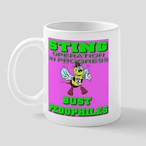 Sting Operation Bust Pedophil Mug