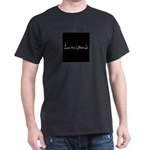 Jess And Friends Logo (Black Background) T-Shirt