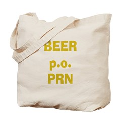 Beer p.o. PRN Tote Bag