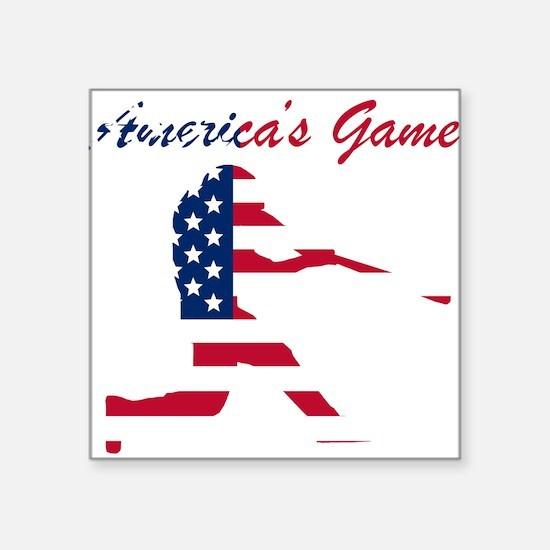 Baseball Batter Americas Game Sticker