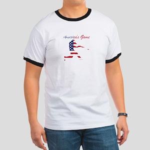 Baseball Batter Americas Game T-Shirt