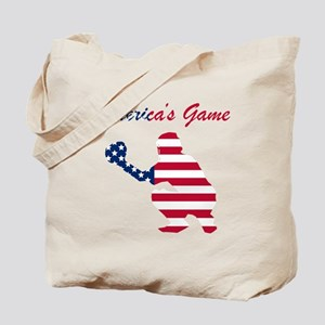 Baseball Catcher Americas Game Tote Bag