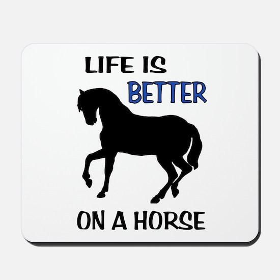 HORSE LOVE Mousepad