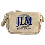 Jesus Loves Me Messenger Bag