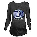Jesus Loves Me Long Sleeve Maternity T-Shirt