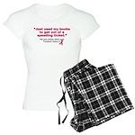 My Boobs Women's Light Pajamas
