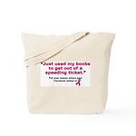 My Boobs Tote Bag