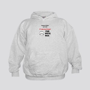 Scoot your bootie back Hoodie