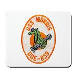 USS NORRIS Mousepad