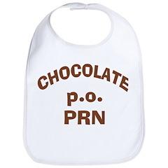 Chocolate p.o. PRN Bib