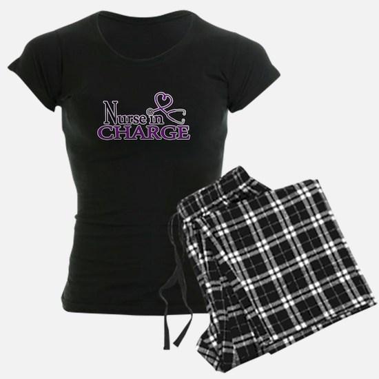 Nurse in Charge - Purple Pajamas