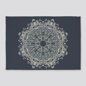 Lace Pattern 5'x7'area Rug
