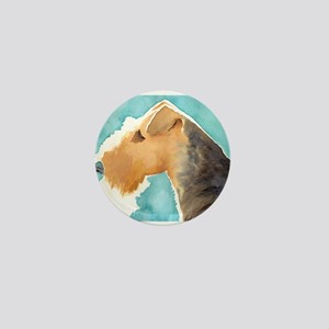 Airedale Terrier Mini Button