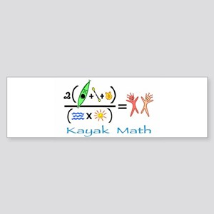kayakmath16 Bumper Sticker