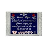 Lovers Magic Rectangle Magnet Magnets