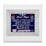 Lovers Magic Tile Coaster