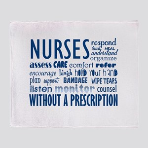 nurses Throw Blanket