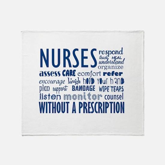 nurses Throw Blanket